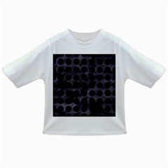 Circles1 Black Marble & Black Watercolor (r) Infant/toddler T Shirts