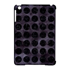 Circles1 Black Marble & Black Watercolor (r) Apple Ipad Mini Hardshell Case (compatible With Smart Cover)