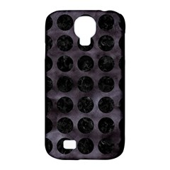 Circles1 Black Marble & Black Watercolor (r) Samsung Galaxy S4 Classic Hardshell Case (pc+silicone)
