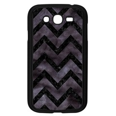 Chevron9 Black Marble & Black Watercolor (r) Samsung Galaxy Grand Duos I9082 Case (black)