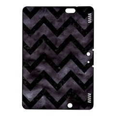 Chevron9 Black Marble & Black Watercolor (r) Kindle Fire Hdx 8 9  Hardshell Case