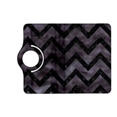 Chevron9 Black Marble & Black Watercolor (r) Kindle Fire Hd (2013) Flip 360 Case