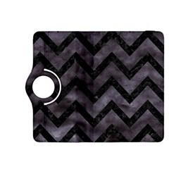 Chevron9 Black Marble & Black Watercolor (r) Kindle Fire Hdx 8 9  Flip 360 Case