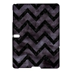 Chevron9 Black Marble & Black Watercolor (r) Samsung Galaxy Tab S (10 5 ) Hardshell Case