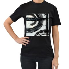Img 6270 Copy Women s T Shirt (black) (two Sided)