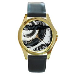 Img 6270 Copy Round Gold Metal Watch