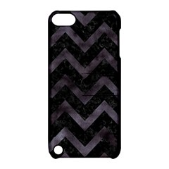 Chevron9 Black Marble & Black Watercolor Apple Ipod Touch 5 Hardshell Case With Stand