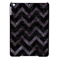 Chevron9 Black Marble & Black Watercolor Ipad Air Hardshell Cases