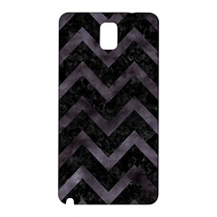 Chevron9 Black Marble & Black Watercolor Samsung Galaxy Note 3 N9005 Hardshell Back Case