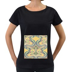 Art Nouveau Women s Loose Fit T Shirt (black)