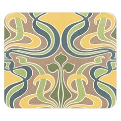 Art Nouveau Double Sided Flano Blanket (small)