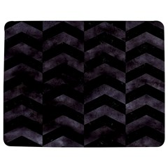 Chevron2 Black Marble & Black Watercolor Jigsaw Puzzle Photo Stand (rectangular)