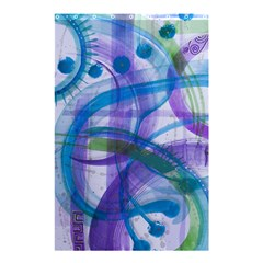 Construct Shower Curtain 48  X 72  (small)