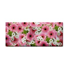 Pink Flower Bg 2 Cosmetic Storage Cases
