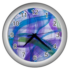 Construct Wall Clocks (silver)