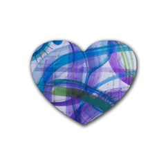 Construct Rubber Coaster (heart)