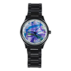 Construct Stainless Steel Round Watch