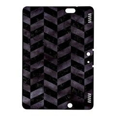 Chevron1 Black Marble & Black Watercolor Kindle Fire Hdx 8 9  Hardshell Case