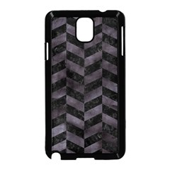 Chevron1 Black Marble & Black Watercolor Samsung Galaxy Note 3 Neo Hardshell Case (black)
