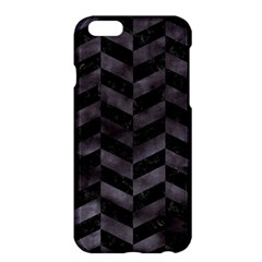 Chevron1 Black Marble & Black Watercolor Apple Iphone 6 Plus/6s Plus Hardshell Case