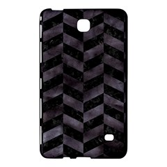 Chevron1 Black Marble & Black Watercolor Samsung Galaxy Tab 4 (7 ) Hardshell Case