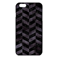 Chevron1 Black Marble & Black Watercolor Iphone 6 Plus/6s Plus Tpu Case