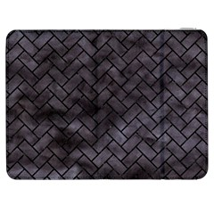Brick2 Black Marble & Black Watercolor (r) Samsung Galaxy Tab 7  P1000 Flip Case