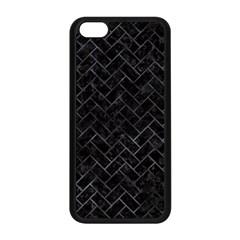 Brick2 Black Marble & Black Watercolor Apple Iphone 5c Seamless Case (black)