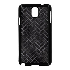 Brick2 Black Marble & Black Watercolor Samsung Galaxy Note 3 Neo Hardshell Case (black)