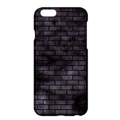 Brick1 Black Marble & Black Watercolor (r) Apple Iphone 6 Plus/6s Plus Hardshell Case