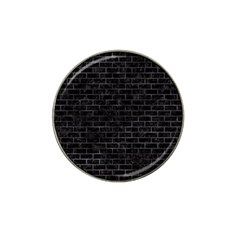 Brick1 Black Marble & Black Watercolor Hat Clip Ball Marker (10 Pack)