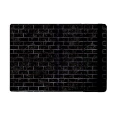 Brick1 Black Marble & Black Watercolor Apple Ipad Mini Flip Case