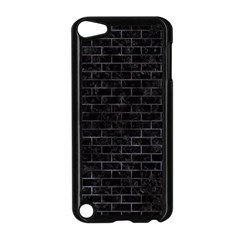 Brick1 Black Marble & Black Watercolor Apple Ipod Touch 5 Case (black)