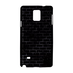 Brick1 Black Marble & Black Watercolor Samsung Galaxy Note 4 Hardshell Case