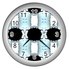 Miller 0410021020 Wall Clocks (silver)