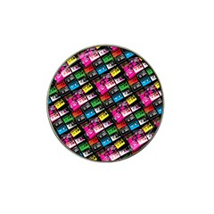 Pattern Colorfulcassettes Icreate Hat Clip Ball Marker (10 Pack)