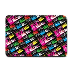 Pattern Colorfulcassettes Icreate Small Doormat