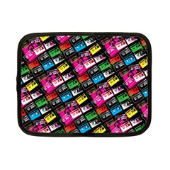 Pattern Colorfulcassettes Icreate Netbook Case (small)