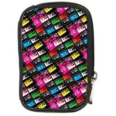 Pattern Colorfulcassettes Icreate Compact Camera Cases