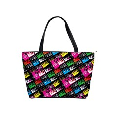 Pattern Colorfulcassettes Icreate Shoulder Handbags