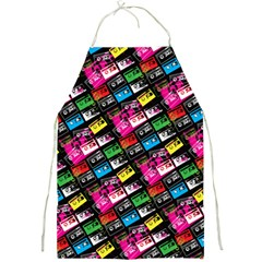 Pattern Colorfulcassettes Icreate Full Print Aprons