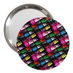 Pattern Colorfulcassettes Icreate 3  Handbag Mirrors