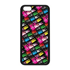 Pattern Colorfulcassettes Icreate Apple Iphone 5c Seamless Case (black)