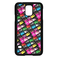 Pattern Colorfulcassettes Icreate Samsung Galaxy S5 Case (black)