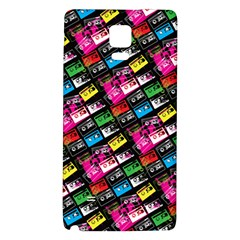 Pattern Colorfulcassettes Icreate Galaxy Note 4 Back Case