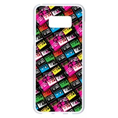 Pattern Colorfulcassettes Icreate Samsung Galaxy S8 Plus White Seamless Case
