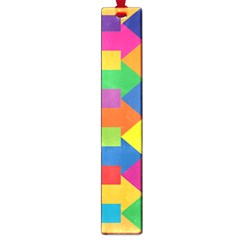 Arrow Rainbow Orange Blue Yellow Red Purple Green Large Book Marks