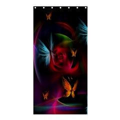 Beautiful Butterflies Rainbow Space Shower Curtain 36  X 72  (stall)