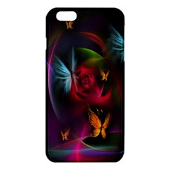 Beautiful Butterflies Rainbow Space Iphone 6 Plus/6s Plus Tpu Case
