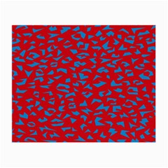 Blue Red Space Galaxy Small Glasses Cloth